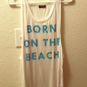 Tops - Born on the Beach Tank
